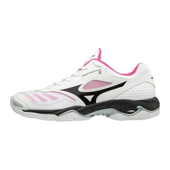 Chaussures femme WAVE PHANTOM 2 white/black/pink glo