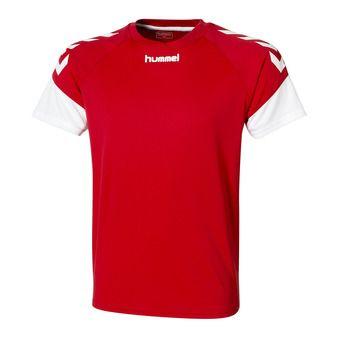 Camiseta hombre CHEVRONS rojo/blanco