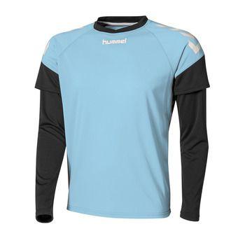 Camiseta de portero hombre CHEVRONS celeste/negro