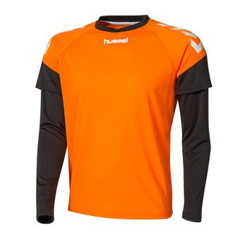 Hummel CHEVRONS - Camiseta hombre orange/black