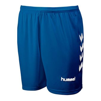 Hummel CHEVRONS - Short hombre royal/white