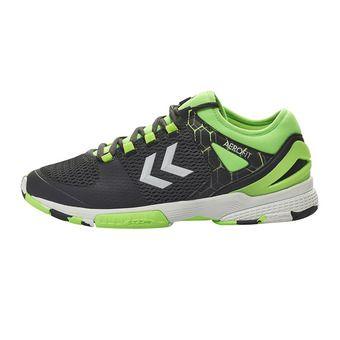 Hummel AERO HB200 2.0 - Chaussures hand Homme asphalte/citron