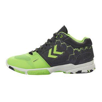 Hummel AERO HB220 2.0 - Chaussures hand Homme asphalte/citron