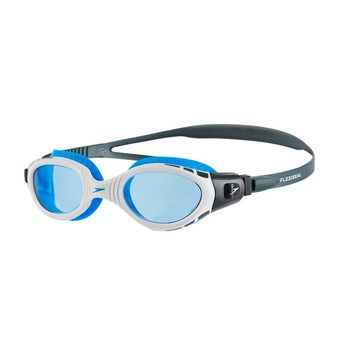 Speedo FUTURA BIOFUSE FLEXISEAL - Lunettes de natation white/blue