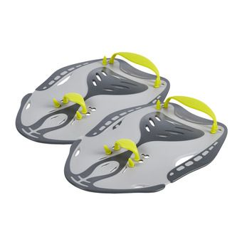 Plaquettes de natation POWER PADDLE grey/green