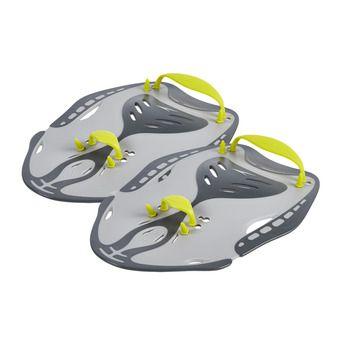 Speedo POWER - Swimming Paddles - grey/green