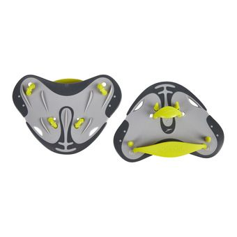 Speedo FINGER PADDLE - Swimming Paddles - grey