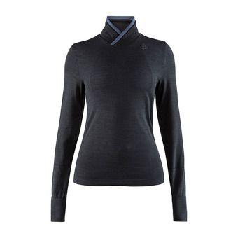 Fuseknit comfort wrap m. longues dame Femme noir