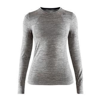 Camiseta térmica mujer BA FUSEKNIT COMFORT antracita jaspeado