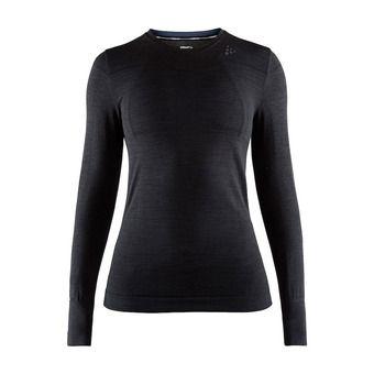 Camiseta térmica mujer BA FUSEKNIT COMFORT negro