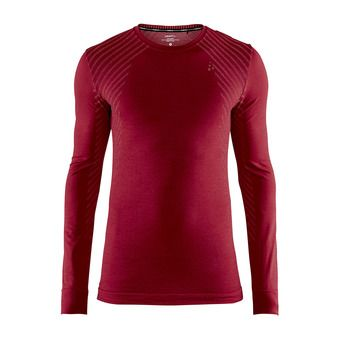 Camiseta térmica hombre BA FUSEKNIT COMFORT rojo jaspeado