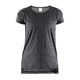 Tee-shirt MC femme NRGY noir