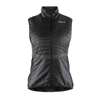 Craft URBAN RUN - Chaqueta mujer black/argent