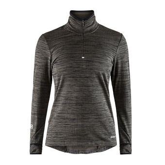 Craft GRID - Fleece - Women's - black/heather