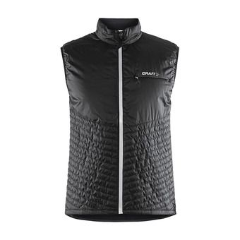 Craft URBAN RUN - Chaqueta hombre black/argent
