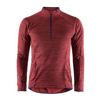 Maillot 1/2 zip ML homme GRID rio chine
