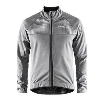 Craft RIME - Veste Homme anthr/argent