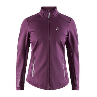 Chaqueta mujer WARM TRAIN cereza