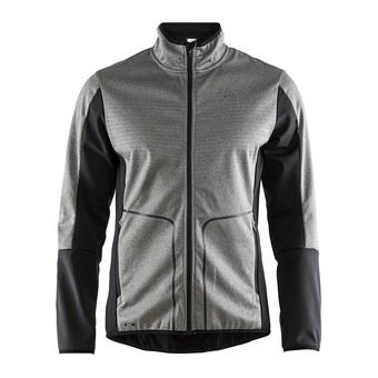 Veste softshell homme SHARP anthr/noir