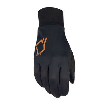 Guantes de esquí YOKO TWISTER WDS® negro/naranja