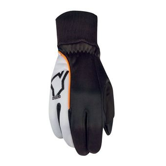 Craft YOKO TREND - Gloves - black/white/orange