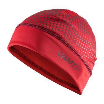 Bonnet LIVIGNO rouge/blanc