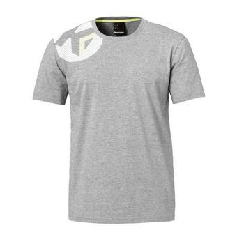 Camiseta hombre CORE 2.0 gris oscuro jaspeado