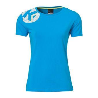 Camiseta mujer CORE 2.0 azul kempa