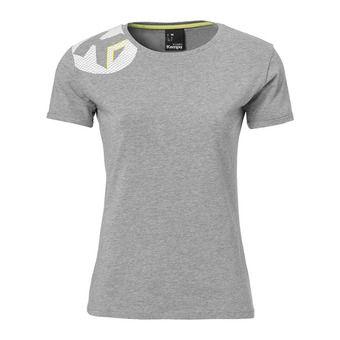 Tee-shirt MC femme CORE 2.0 gris foncé chiné