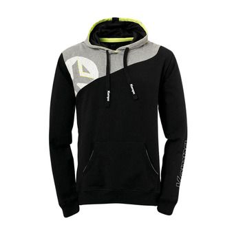 Sweat à capuche homme CORE 2.0 noir/gris foncé chiné