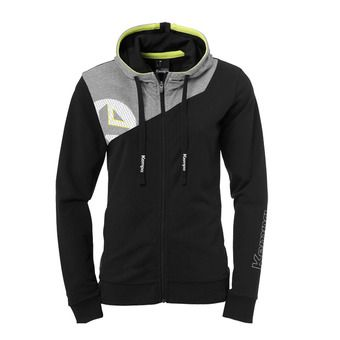 Kempa CORE 2.0 HOOD JACKET - Sudadera mujer black/dark grey heather