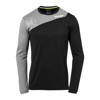 Kempa CORE 2.0 - Camiseta hombre black/dark grey heather