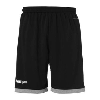 Kempa CORE 2.0 - Short hombre black/dark grey heather