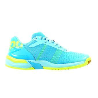 Kempa ATTACK CONTENDER - Chaussures hand Femme cyan/bleu ciel clair/jaune
