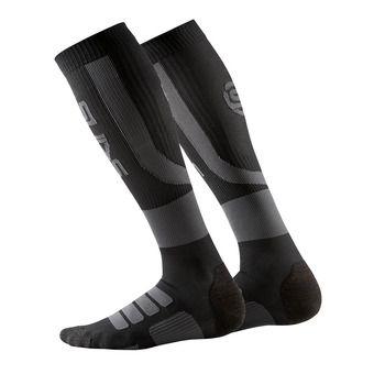 Calcetines de compresión hombre ESSENTIALS ACTIVE black/charcoal