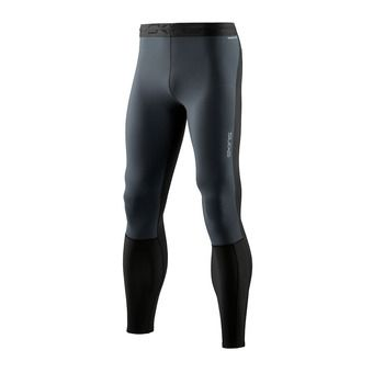 Skins DNAMIC THERMAL WIND - Mallas hombre black/charcoal