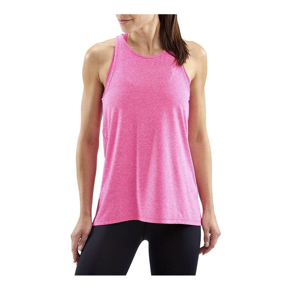2c850765f3bca ... SKINS Activewear Siken Womens Tank Top Pink Marle Femme Pink Marle ...