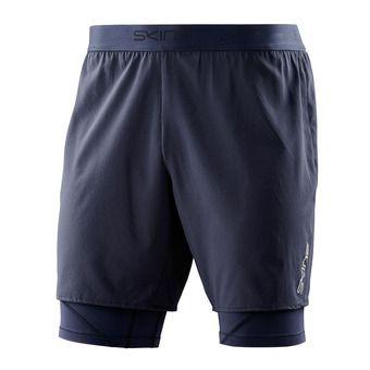Short 2 en 1 homme SUPERPOSE DNAMIC navy blue
