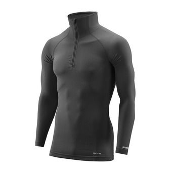 Maillot ML 1/2 zip homme DNAMIC BASE black