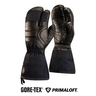 Black Diamond GUIDE FINGER GTX - Moufles black