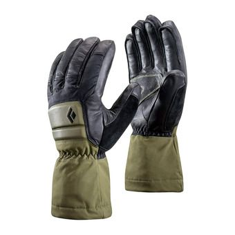 Black Diamond SPARK POWDER GTX - Gants burnt olive