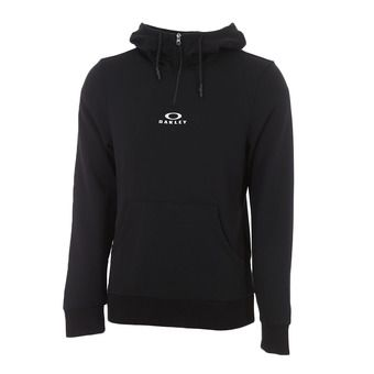 Oakley BARK HALF ZIP - Sweat Homme blackout