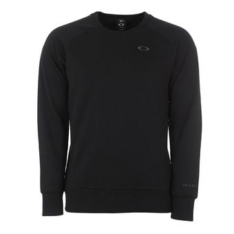 Oakley ENHANCE TECHNICAL GRID - Sudadera hombre blackout