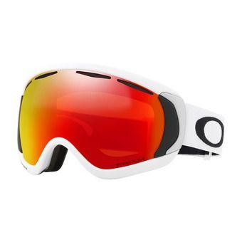 Oakley CANOPY - Gafas de esquí matte white/prizm torch iridium