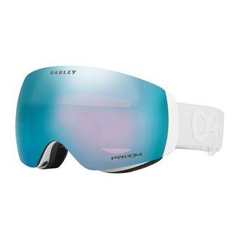 Oakley FLIGHT DECK XM - Masque ski factory pilot whiteout/prizm sapphire iridium