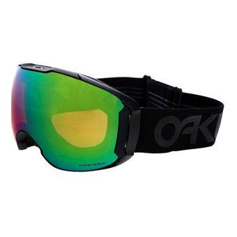 OAKLEY. Soldes -30% Masque de ski + écran supplémentaire AIRBRAKE XL  factory pilot blackout prizm jade iridium   0a10ae749220