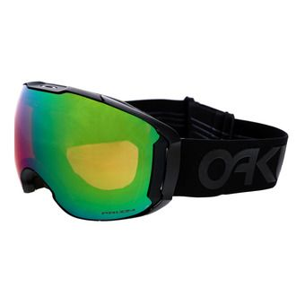 Oakley AIRBRAKE XL - Masque ski factory pilot blackout/prizm jade iridium