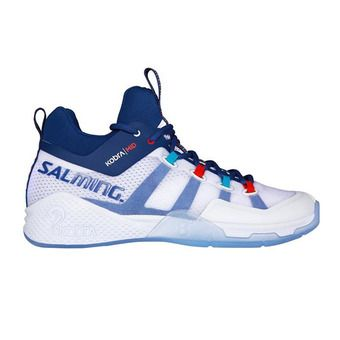 Salming KOBRA 2 - Chaussures hand Homme blanc/limoges