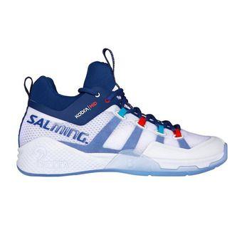 Salming KOBRA 2 - Zapatillas indoor hombre blanco/limoges