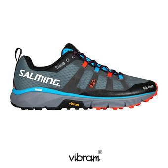Salming TRAIL 5 - Chaussures trail Homme gris/noir